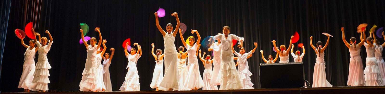 Spanish dance company in Havana / Cuba