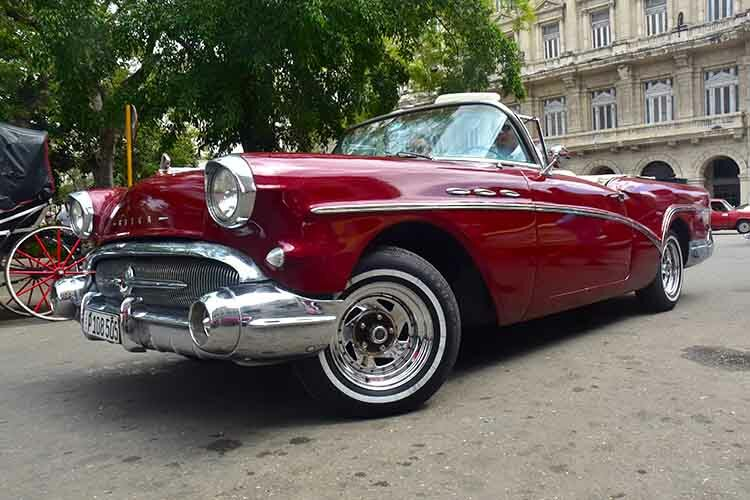 Carlos and Enmanuel invite you to join them on an unforgettable tour in their 1957 Buick Special Convertible. © Havana My Way, info@havanamyway.com